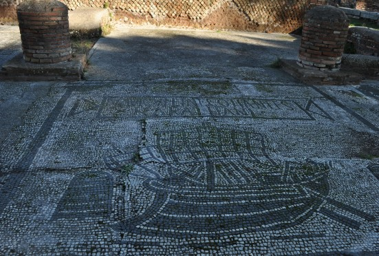 Square of the Guilds Ostia Antica