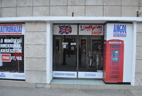 Clothing store Kaposvar Hungary