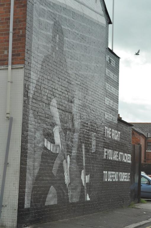 Titanic Belfast Mural